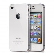 Husa APPLE iPhone 4\4S - Luxury Slim Case TSS, Transparent