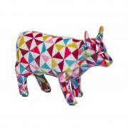 LAMART višebojna keramička štedna kasica kravljeg oblika