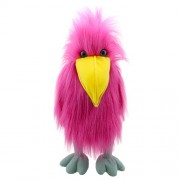 The Puppet Company Basic Birds Pink Bird Hand Puppet