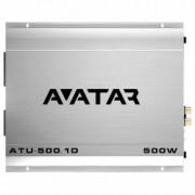 Amplificator auto Avatar ATU-500.1D 1 canal 500W