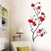 Walltola Wall Sticker - Lovely Cherry Blossom 5723 (Dimensions 50x105cm)