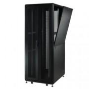 Комуникационен шкаф MIRSAN MR.GTS42U61.11 Server/Storage, 610 x 1000 x 2028 мм / 42U, D=1000 мм, 1000 кг товар, черен, свободно стоящ