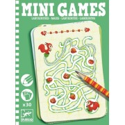 Mini gra podróżna dla dzieci Labirynty Ariadne łamigłówki DJECO DJ05324