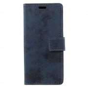 GSMWise Samsung Galaxy A6 (2018) Hoesje - Vintage Wallet Case met Kaarthouder - Blauw
