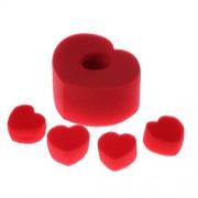 Tradico® Magic Tricks Sponge Heart Love Balls Toys Gifts Magic Accessories Trick Tool Ef