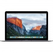 Laptop Apple MacBook 12 inch Retina Intel Skylake Core M3 1.1GHz 8GB DDR3 256GB SSD Intel HD Graphics 515 Mac OS X El Capitan Space Grey INT keyboard