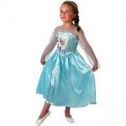 Детски карнавален костюм Елза Frozen, 2 налични размера, Rubies, 610494