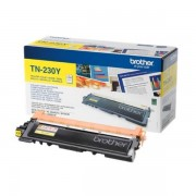 Brother Originale HL-3040 CN Toner (TN-230 Y) giallo, 1,400 pagine, 4.43 cent per pagina - sostituito Toner TN230Y per HL-3040CN