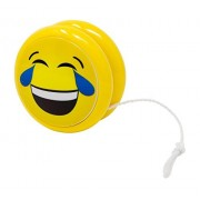Emoji YoYo - 6 Pack of Emoticon YoYos For Kids in Assorted Styles - Each YoYo Features Spin Technology - Perfect As Gifts