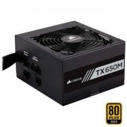 Захранване Corsair TX650M PC-Netzteil (Voll-Modulares Kabelmanagement, 80 Plus Gold, 650 Watt, EU)