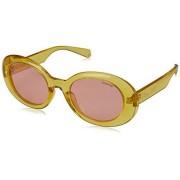 Polaroid 6052/S Gafas de sol para Mujer, color Amarillo, 52 mm