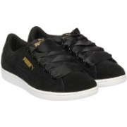 Puma Puma Vikky Ribbon Sneakers For Women(Black)