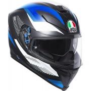AGV K-5 S Marble Helmet Black Blue XS