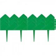 """Бордюр градински """"Готика"""", 14 х 310 cm, зелен Русия 65060"""