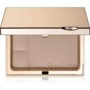 Clarins Face Make-Up Ever Matte 2019 polvos compactos de acabado mate tono 02 Transparent Medium 10 g