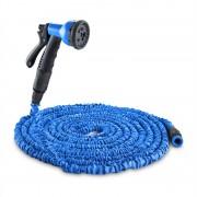 Waldbeck Flex 22 flexibilis kerti locsolócső, 8 funkció, 22,5m, kék (GDH-Flex-22-BL)