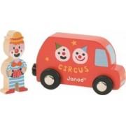 Masinuta Janod My Story - Clown and Bus
