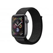 Умные часы APPLE Watch Series 4 40mm Space Grey Aluminium Case with Black Sport Loop MU672RU/A