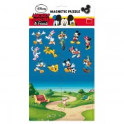 PUZZLE MAGNETIC - MICKEY SI PRIETENII (16 PIESE) - DINO TOYS (658653)