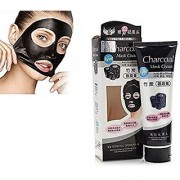Bamboo Activated Charcoal Anti-Blackhead Pore Acne Deep Cleansing Suction Mask Cream(130g)