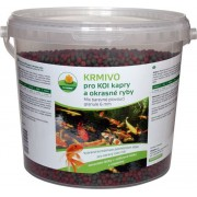 Proxim krmivo pro Koi kapry a okrasné ryby barevné plovoucí granule 2l 6mm