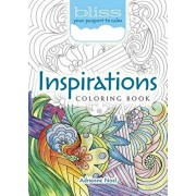 BLISS Inspirations Coloring Book. Your Passport to Calm, Paperback/Adrienne Noel