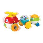 Winfun Pull Along Bubble Pals Toy