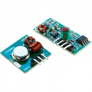 433 MHz wireless Transmitter module and receiver module, (1 Set)