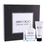 Jimmy Choo Urban Hero confezione regalo eau de parfum 100 ml + eau de parfum 7,5 ml + balsamo dopobarba 100 ml Uomo