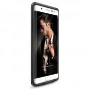 Husa Samsung Galaxy Note 7 Fan Edition Ringke Flex S BROWN + Bonus folie protectie Ringke Invisible Screen Defender