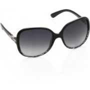 Miami Blues Over-sized Sunglasses(Grey)