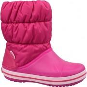 Crocs Copii de iarnă Cizme Puff 14613-6X0 roz 30/31