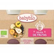 babybio Tarrito Delicia de Frutas Babybio 2 x 130 g