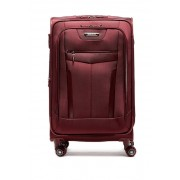 Traveler's Choice Clayton Ballistic Nylon 26 Expandable Spinner BURGUNDY