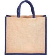 PRAHAN INTERNATIONAL Carry Bag Natural Juit Hand Carry Bag with two Handle Strap PS2006C(Natural Jute)