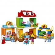 Lego duplo town grande piazza in città