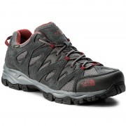 Туристически THE NORTH FACE - Storm Hike Gtx (EU) GORE-TEX T932ZSTCP Dark Shadow Grey/Rudy Red