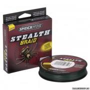 Леска плетёная Spiderwire Stealth Braid 137 м 0,14 мм 10,2 кг (цвет: тёмно-зеленый) Л01-00200