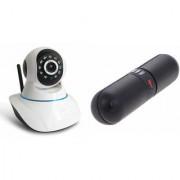 Zemini Wifi CCTV Camera and Facebook Bluetooth Speaker for SAMSUNG GALAXY MEGA PLUS(Wifi CCTV Camera with night vision |Facebook Bluetooth Speaker)