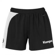 Kempa Damen-Short PEAK - schwarz/weiß | L