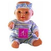 Baby born- Papusa interactiva baietel care vorbeste si canta in limba romana varsta 3 ani+ multicolor