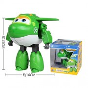ABS Super Wings Deformation Airplane Robot Action Figures Super Wing Transformation toys for children gift