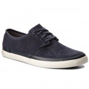 Обувки CLARKS - Torbay Rand 261327487 Blue Suede