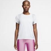 Haut de runningà manches courtes Nike pour Femme - Blanc
