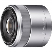 Sony Alpha NEX Lens 30mm, f/3.5, AF for movie use, 49mm filter