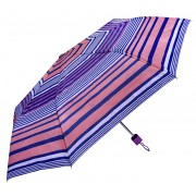 Blooming Brollies Umbrelă pliabilă pentru femei Perletti Basics Collection 12258 Purple