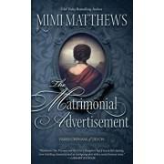 The Matrimonial Advertisement, Paperback/Mimi Matthews
