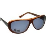 Animal Oval Sunglasses(Grey)