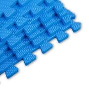 Modrá modulární pěnová podložka - délka 46 cm, šířka 46 cm a výška 1,25 cm