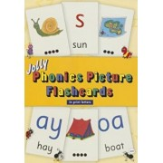 Jolly Phonics Picture Flashcards (in Print Letters), Paperback/Sue Lloyd
